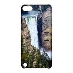 Yellowstone Waterfall Apple Ipod Touch 5 Hardshell Case With Stand