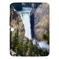 YELLOWSTONE WATERFALL Samsung Galaxy Tab 3 (10.1 ) P5200 Hardshell Case