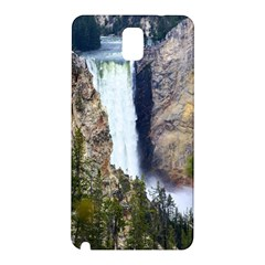 YELLOWSTONE WATERFALL Samsung Galaxy Note 3 N9005 Hardshell Back Case