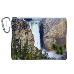 YELLOWSTONE WATERFALL Canvas Cosmetic Bag (XL)