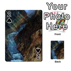 Yellowstone Lower Falls Playing Cards 54 Designs