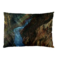 Yellowstone Lower Falls Pillow Cases