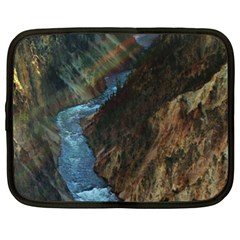 YELLOWSTONE LOWER FALLS Netbook Case (XL)