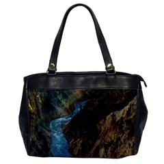 YELLOWSTONE LOWER FALLS Office Handbags