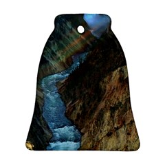 Yellowstone Lower Falls Bell Ornament (2 Sides)