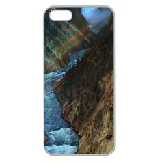 YELLOWSTONE LOWER FALLS Apple Seamless iPhone 5 Case (Clear)