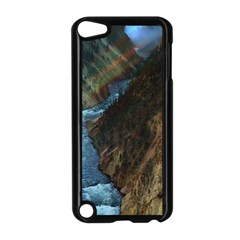 YELLOWSTONE LOWER FALLS Apple iPod Touch 5 Case (Black)