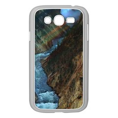 YELLOWSTONE LOWER FALLS Samsung Galaxy Grand DUOS I9082 Case (White)
