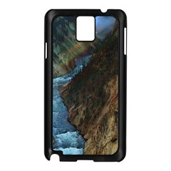 YELLOWSTONE LOWER FALLS Samsung Galaxy Note 3 N9005 Case (Black)