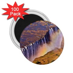 WATERFALL AFRICA ZAMBIA 2.25  Magnets (100 pack)