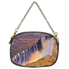 WATERFALL AFRICA ZAMBIA Chain Purses (Two Sides)