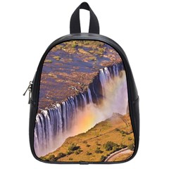 WATERFALL AFRICA ZAMBIA School Bags (Small)