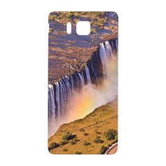 WATERFALL AFRICA ZAMBIA Samsung Galaxy Alpha Hardshell Back Case