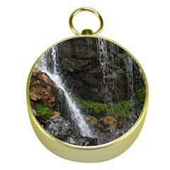 WATERFALL Gold Compasses