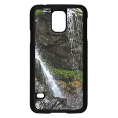 WATERFALL Samsung Galaxy S5 Case (Black)