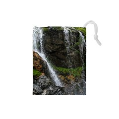 Waterfall Drawstring Pouches (small)
