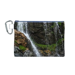 WATERFALL Canvas Cosmetic Bag (M)