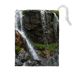 Waterfall Drawstring Pouches (extra Large)