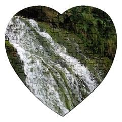 WATER OVERFLOW Jigsaw Puzzle (Heart)