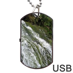 WATER OVERFLOW Dog Tag USB Flash (Two Sides)