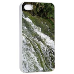 Water Overflow Apple Iphone 4/4s Seamless Case (white)