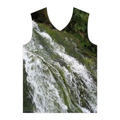 WATER OVERFLOW Men s Basketball Tank Top