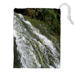 WATER OVERFLOW Drawstring Pouches (XXL)