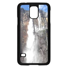 SALTO DEL ANGEL Samsung Galaxy S5 Case (Black)
