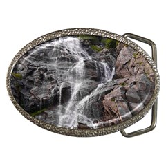 MOUNTAIN WATERFALL Belt Buckles