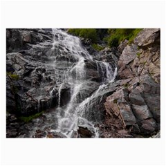 MOUNTAIN WATERFALL Large Glasses Cloth