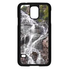 Mountain Waterfall Samsung Galaxy S5 Case (black)