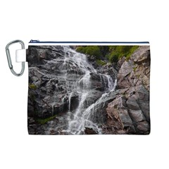 MOUNTAIN WATERFALL Canvas Cosmetic Bag (L)