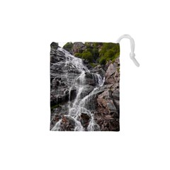 MOUNTAIN WATERFALL Drawstring Pouches (XS)