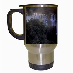 IGUAZU FALLS Travel Mugs (White)