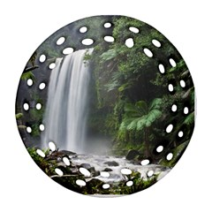 Hopetoun Falls Ornament (round Filigree)