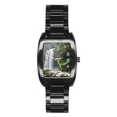 HOPETOUN FALLS Stainless Steel Barrel Watch