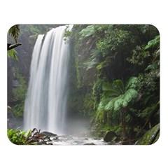 Hopetoun Falls Double Sided Flano Blanket (large)