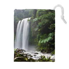 HOPETOUN FALLS Drawstring Pouches (Extra Large)