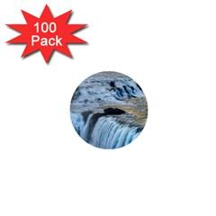 GULLFOSS WATERFALLS 2 1  Mini Buttons (100 pack)