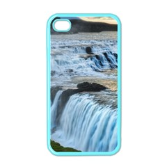 GULLFOSS WATERFALLS 2 Apple iPhone 4 Case (Color)