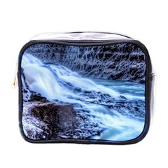 Gullfoss Waterfalls 1 Mini Toiletries Bags