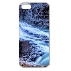 GULLFOSS WATERFALLS 1 Apple Seamless iPhone 5 Case (Clear)