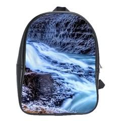 GULLFOSS WATERFALLS 1 School Bags (XL)