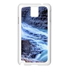 GULLFOSS WATERFALLS 1 Samsung Galaxy Note 3 N9005 Case (White)