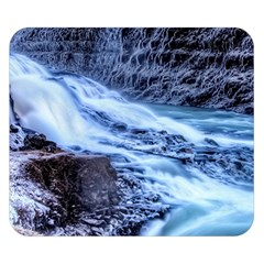 GULLFOSS WATERFALLS 1 Double Sided Flano Blanket (Small)