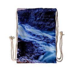 GULLFOSS WATERFALLS 1 Drawstring Bag (Small)