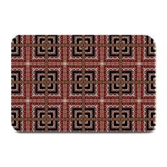 Check Ornate Pattern Plate Mats