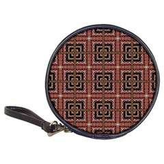 Check Ornate Pattern Classic 20-CD Wallets