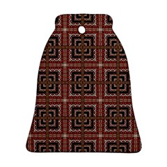 Check Ornate Pattern Ornament (bell)