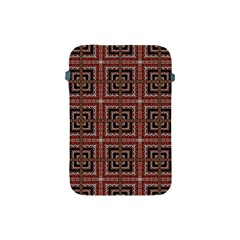 Check Ornate Pattern Apple iPad Mini Protective Soft Cases